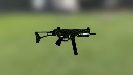 UMP-45 3D Model