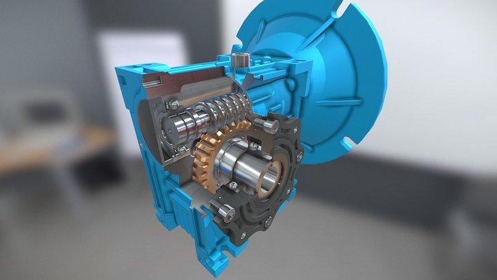 Warm Gearbox 3D Model