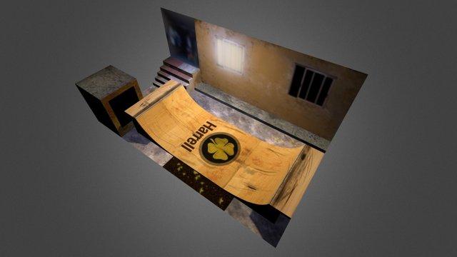 Harrell ramp house 3D Model