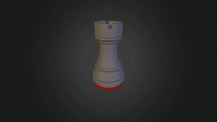 Rook 3D Model