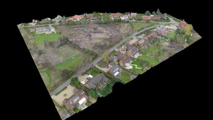 Mill Road, Marlingford - 3D Photo 3D Model