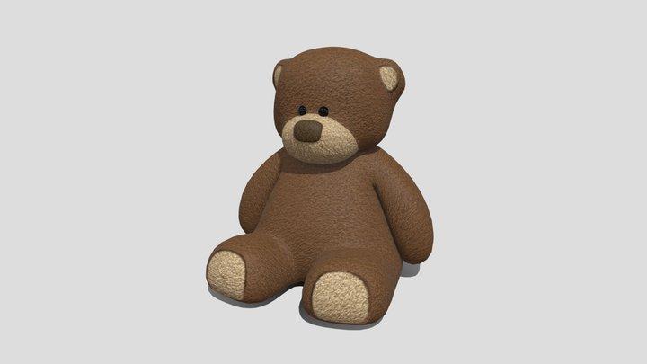 Free model of the week - Teddybear toy 3D Model