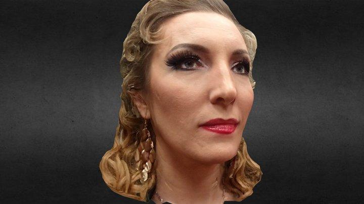 Anzhelina as Amneris in Aida 3D Model