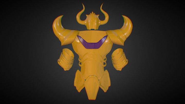 saint seiya bull armor 3D Model