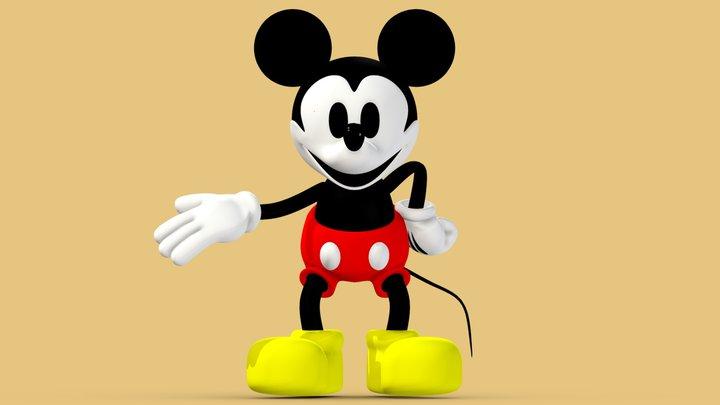 Mickey Mouse v.1 3D Model