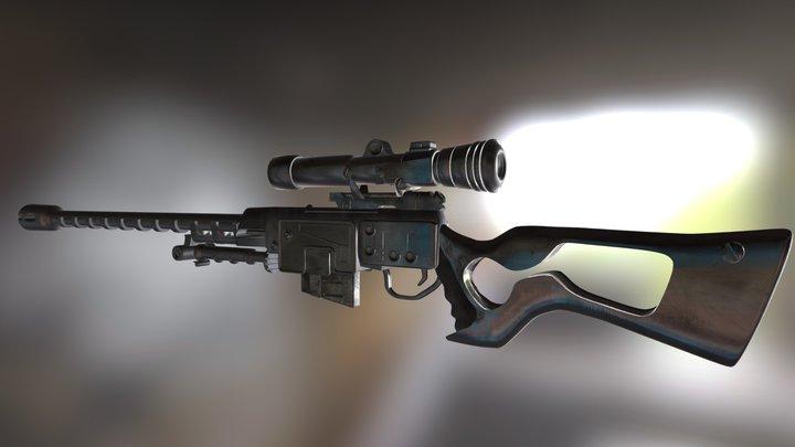 Sniper 3D Model