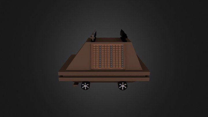 Cleaning droid MK1 3D Model