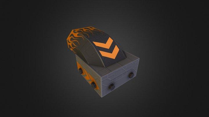 thruster_stripe 3D Model