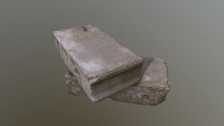 Concrete blocks 3d scan 3D Model