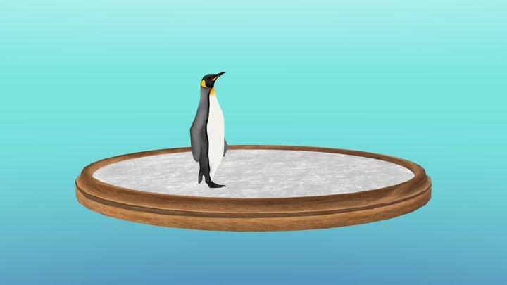 [WIP] Pinguin walking 3D Model