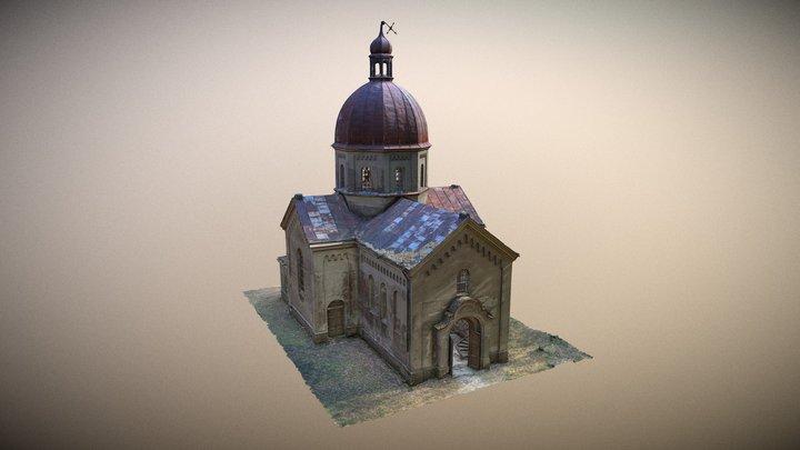 Greek Catholic Church - Stare Oleszyce,Poland 3D Model
