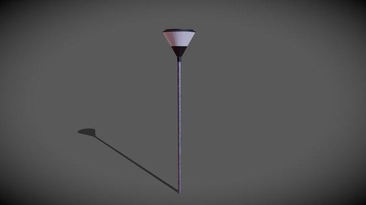Lampadaire 3D Model