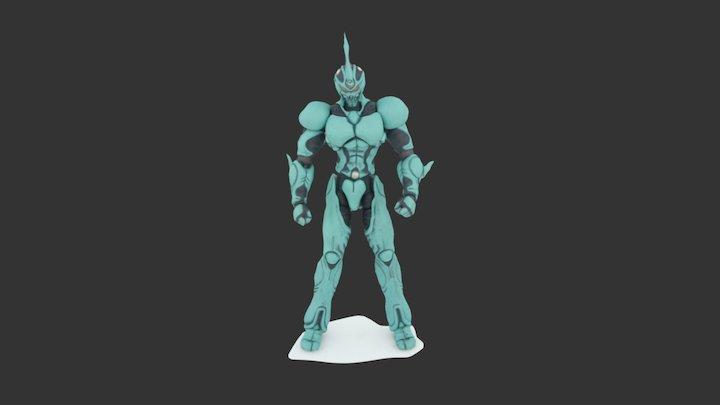 凯普 3D Model