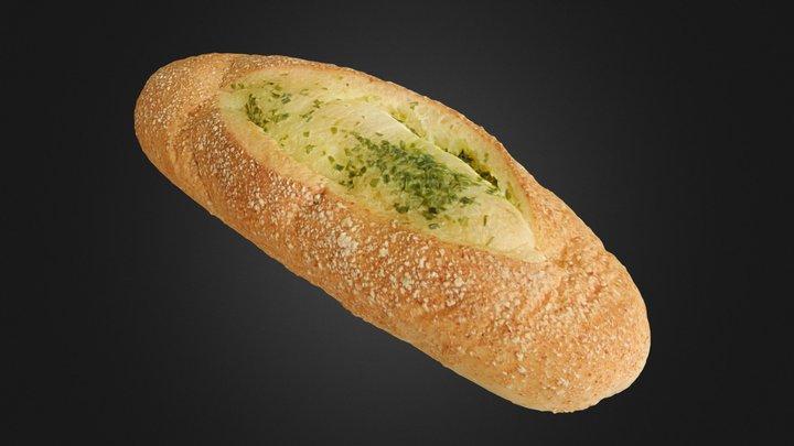 Garlic Bread 大蒜麵包 3D Model