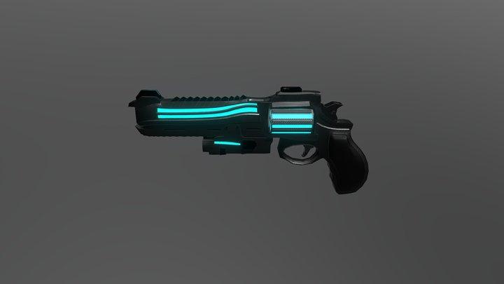 Small Gun 3D Model