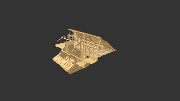Charpente 3D Model
