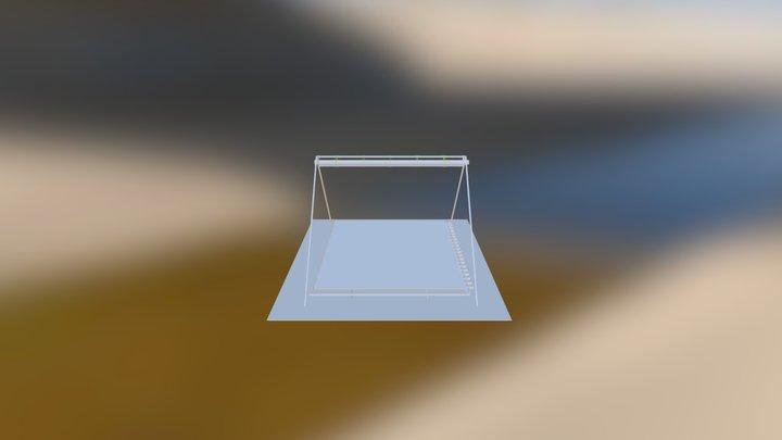 Concentrateur Solaire OSE Fr N-S 3D Model