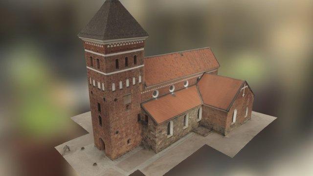 Helga Trefaldighets kyrka 3D Model