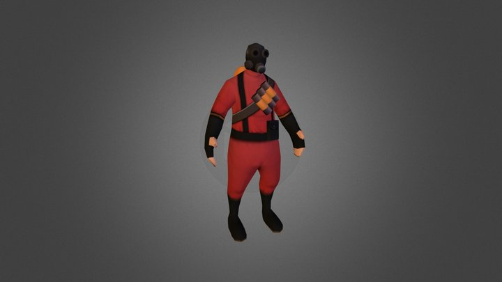 Pyro - Team Fortress 2 3D Model