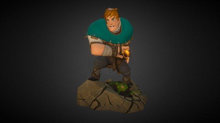 The Green Knight 3D Model