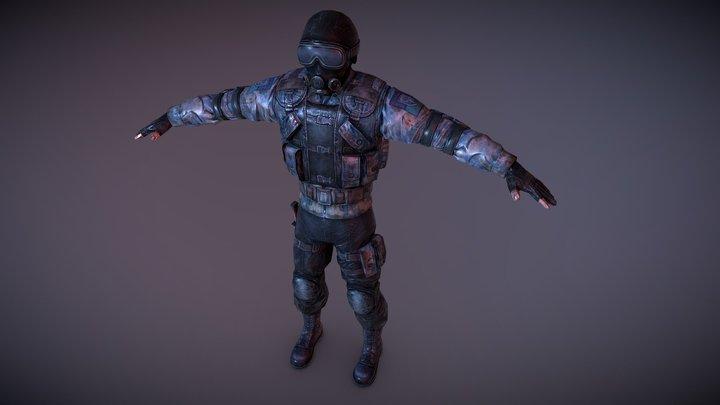 S.T.A.L.K.E.R Clear Sky 3D Model