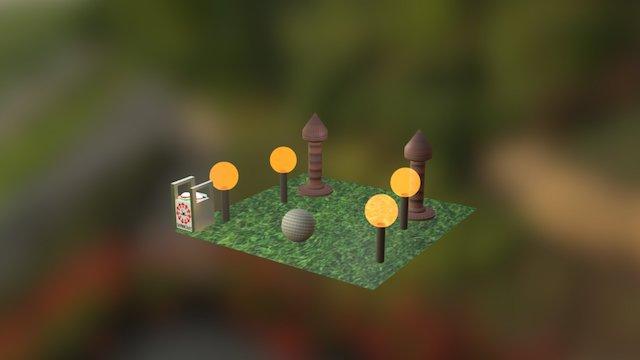 Tugas Tri Daryatni V3D 1 Kelompok 4 3D Model