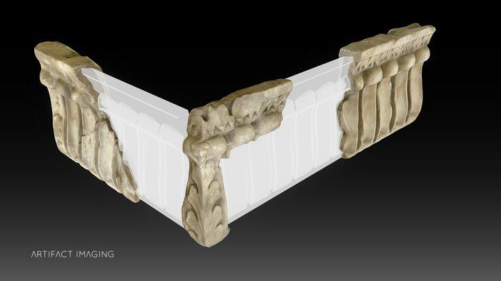 Orange Theatre - Hollow tongues frieze 3D Model