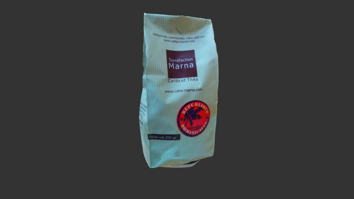 Coffee pack 3D Model