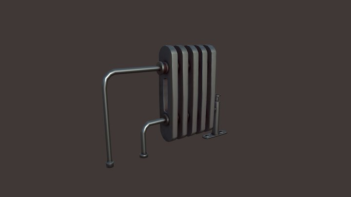 Dishonored Radiator 3D Model