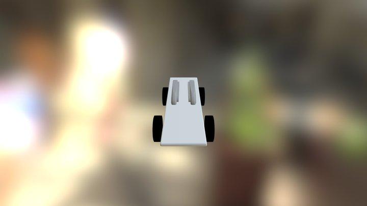 Pinewood derby car 3D Model