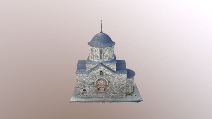 Bran small church 3D Model