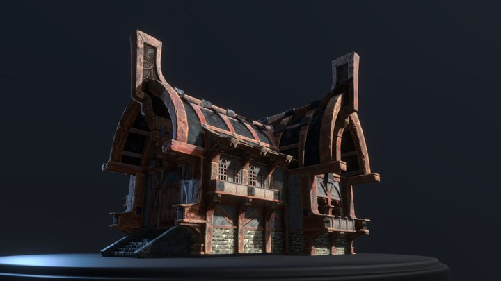 Nord house 3D Model