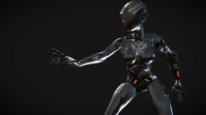 No.13 Fighting Robot 3D Model