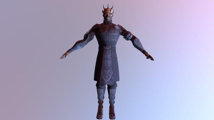 Savage Opress 3D model 3D Model