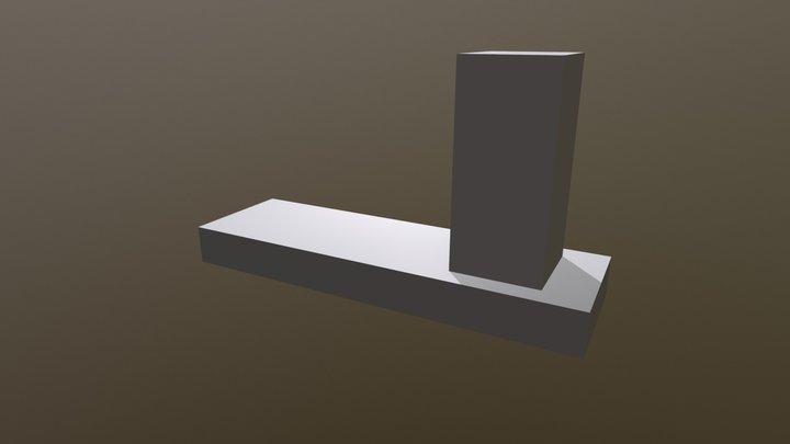 Kinematická dvojica: posuvný pohyb (T1) 3D Model