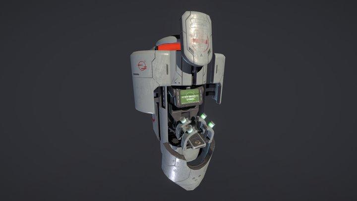 Doom Health Station 3D Model