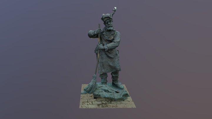 Дворник 3D Model