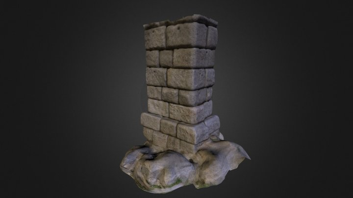 Acueducto de Segovia 3D Model
