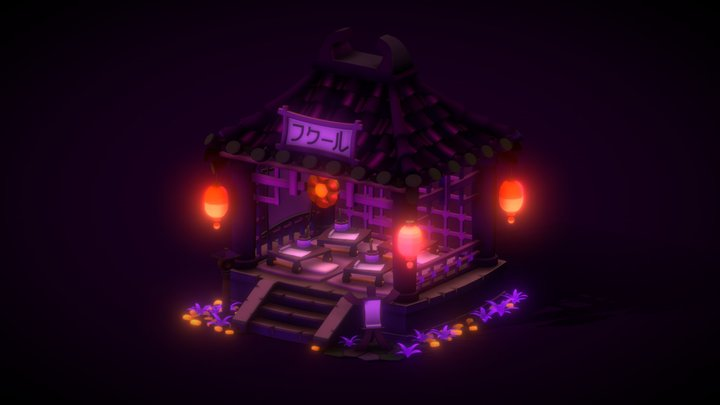 The Class For The Late Night Trick or Treaters 3D Model