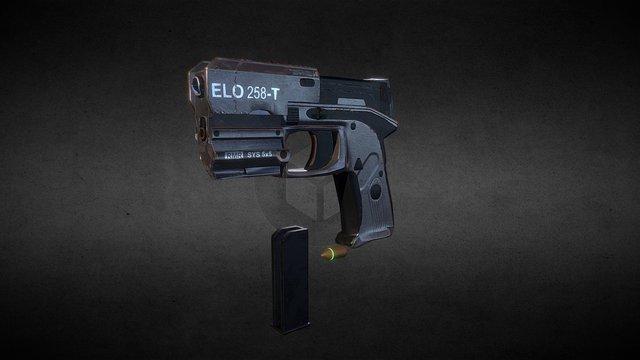 Star Citizen- laster pistol 3D Model