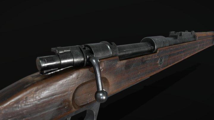 Kar98k Free Model 3D Model