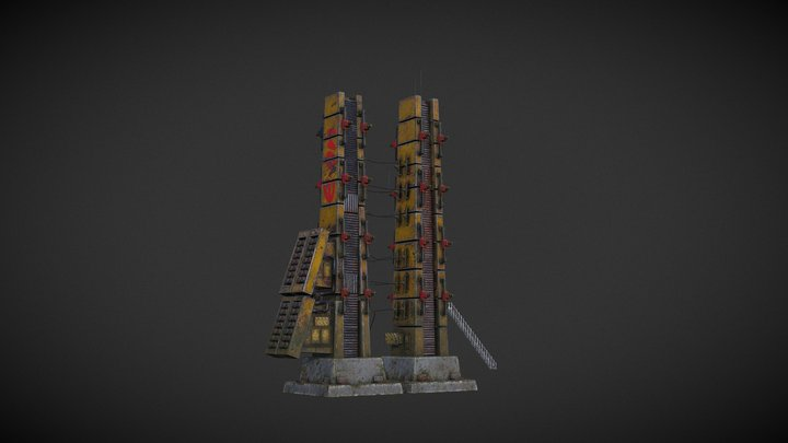 The Arcane Welder   Pylon 3D Model