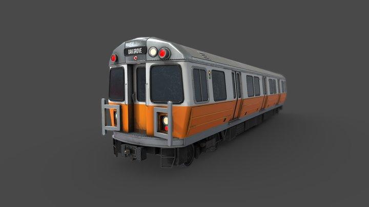 MBTA Orange Line Subway 3D Model