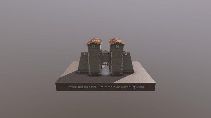 Entrée Sud du castellum de Horbourg-Wihr 3D Model