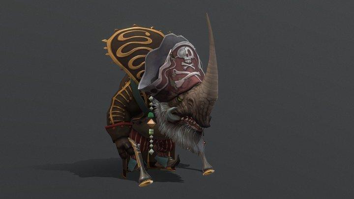 Rhinomanchief 3D Model