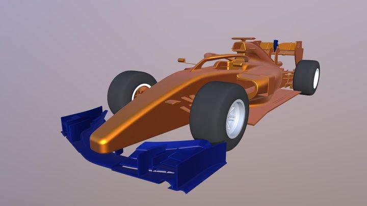 Formula 1 Car 3D Model