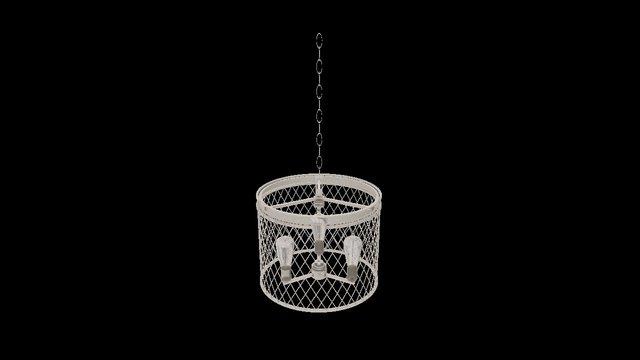 Cage Pendant 3D Model