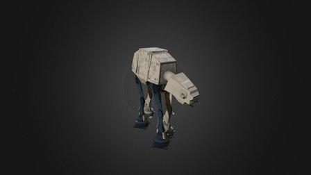Imperial Walkers 3D Model