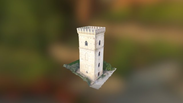 Torre di Spoltore 3D Model