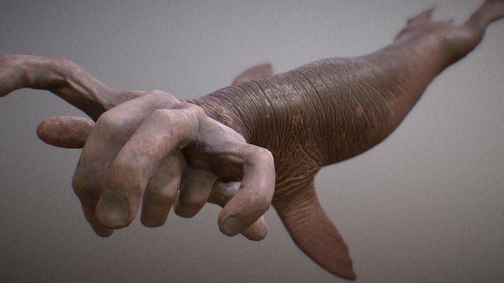 Manutherium 3D Model